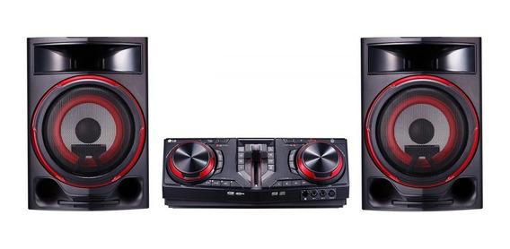 Mini System Lg 1800w Cd, Cd-r, Cd-rw, Mp3, Wma, Bluetooth