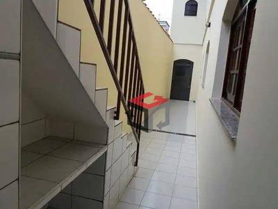 Sobrado Com 3 Dormitórios Para Alugar, 274 M² Por R$ 2.300/mês - Jardim Las Vegas - Santo André/sp - So21245