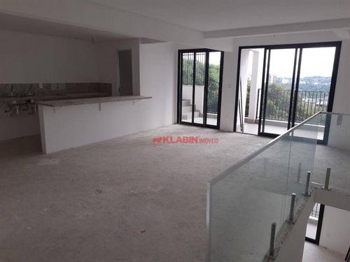 Cobertura Triplex Com 3 Suites, 4 Vagas, Rooftop Privativo À Venda, 202,22 M²  - Vila Madalena - São Paulo/sp - Co0311