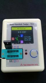Teste Tc1 Zener Mosfet Esr Capacitor Resistor Transistor Sp