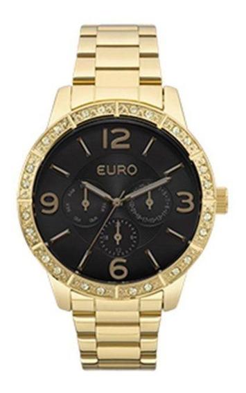 Relógio Euro Feminino Eu6p29agx/4p Dourado