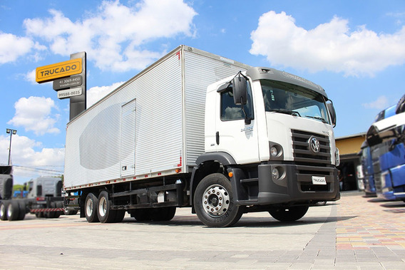 Vw 24280 6x2 2015 Baú Constelation Trucado = 2430 24250