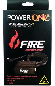 Fire Power One - Fonte 9v Chaveada Bivolt P/ Pedais Fire