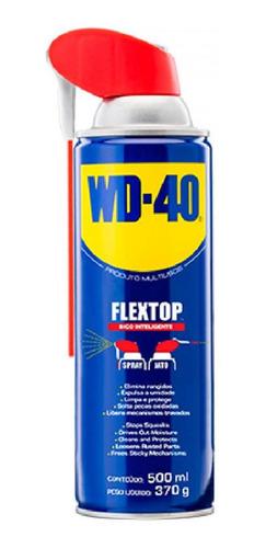 Imagem 1 de 3 de Wd-40 Desengripante/óleo Wd40 500ml Flextop- 340847
