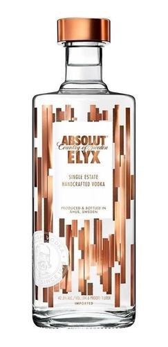 Imagen 1 de 3 de Vodka Absolut Elyx, 1 Lt.