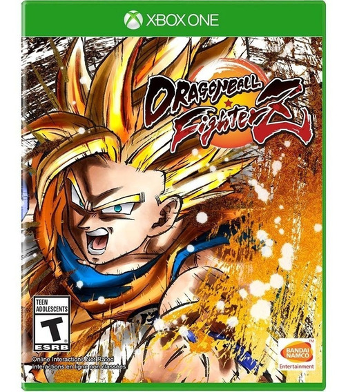 Jogo Dragon Ball Fighter Z Xbox One Luta Física Portugues