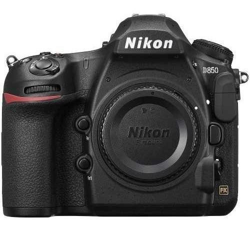 Camera Profissional Nikon D850 Dslr Apenas Corpo Preta