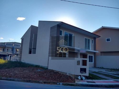 Sobrado Com 2 Dormitórios À Venda, 76 M² Por R$ 233.200,00 - Loteamento Jardim Botânico - São José/sc - So0029