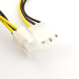 Cable Adaptador De Fuente De Molex A 4 Pin Atx 12 V Cpu
