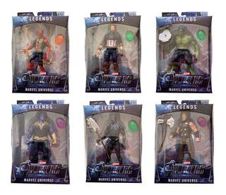 Muñecos Articulados Avengers End Game Spiderman Thanos Y Mas