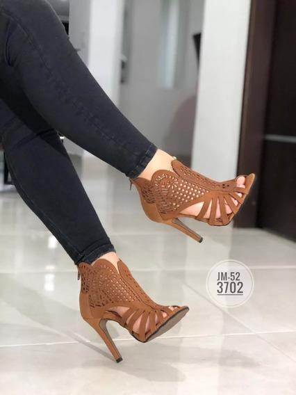 Sandalias Altas Elegantes Para Damas Moda Colombiana