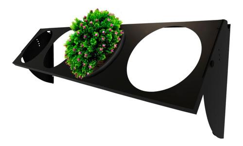 Imagem 1 de 6 de Jardineira Vertical Para Plantio De Flores Plantas 4 Vasos