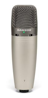 Microfono Samson C03uc Condenser Tres Patrones Usb Palermo