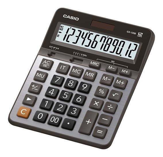 Calculadora Escritorio Casio Gx-120b Garantia Oficial 2 Años