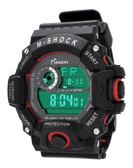 Relógio Masculino M-shock À Prova D