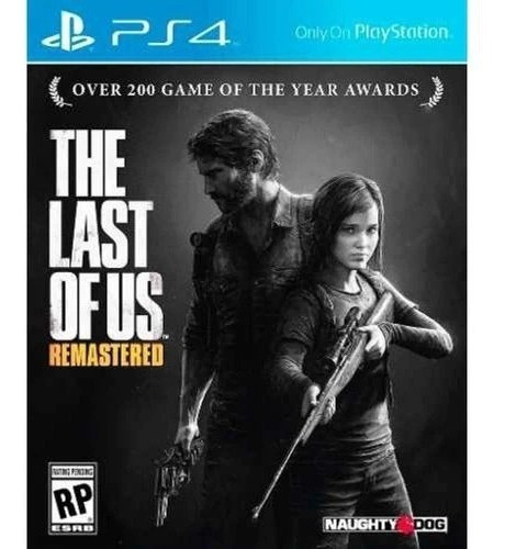 The Last Of Us Remastered Ps4 Mídia Física (cartelado)