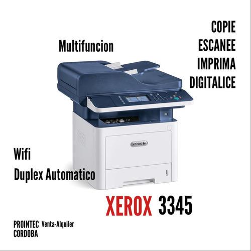 Impresora Laser Multifuncion Xerox 3345 Fotocop.  Cordoba