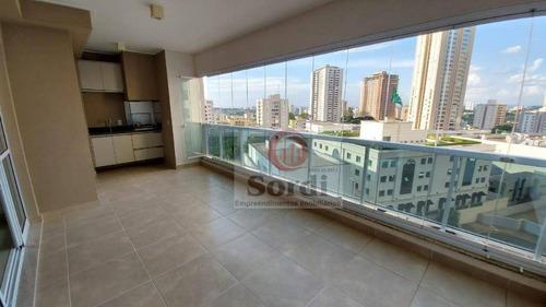 Imagem 1 de 19 de Apartamento Com 3 Dormitórios À Venda, 139 M² Por R$ 860.000,00 - Bosque Das Juritis - Ribeirão Preto/sp - Ap3517