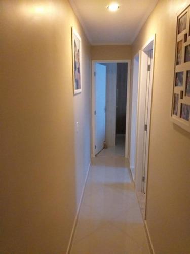 Imagem 1 de 16 de Apto Rico Em Armários Planejados Com 02 Dormitórios E 50 M² No Jardim Três Marias - Sp - Ap2652v
