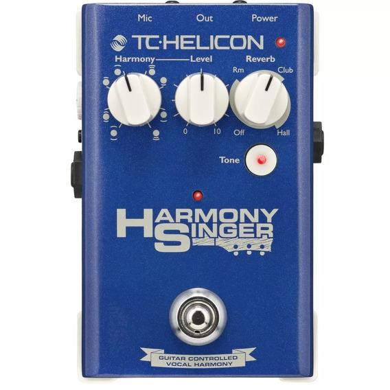 Pedal Tc Helicon Harmony Singer 2 + Nf E Garantia
