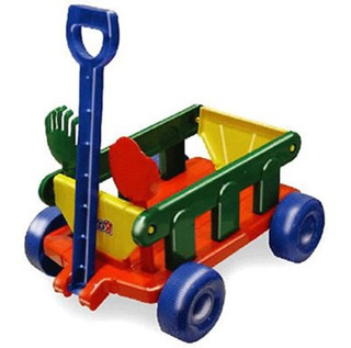 Carro Arrastre Juguete Wagon Transporte Con Balde Pala Rondi
