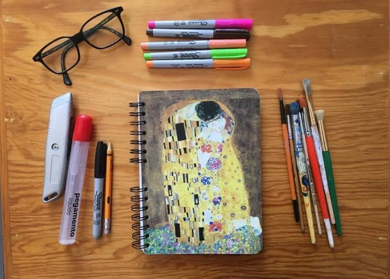 Libreta Arte Van Gogh Klimt Botticel - Dus Creative Company