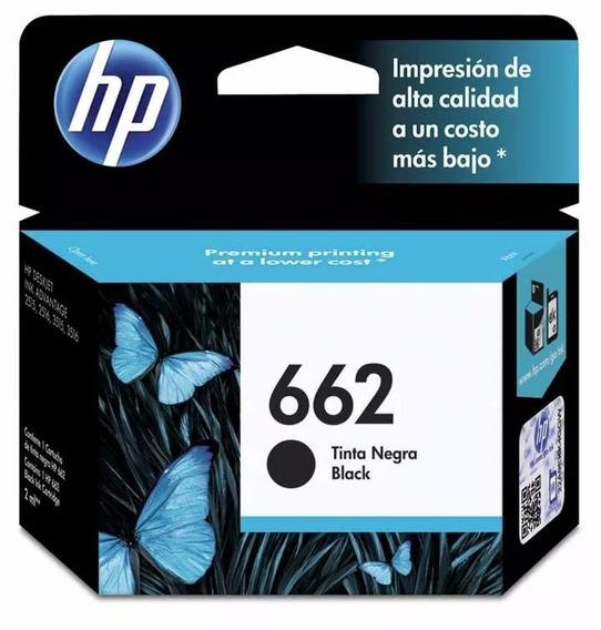 Cartucho Hp 662 Negro A Estrenar Cz103al Original Holograma