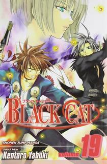 Libro Kentaro Yabuki Gato Negro Vol 19