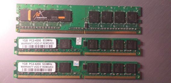 Memoria Ram 1 Gb Ddr2 800mhz / 533 Mhz