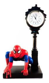 Relógio De Mesa Homem Aranha