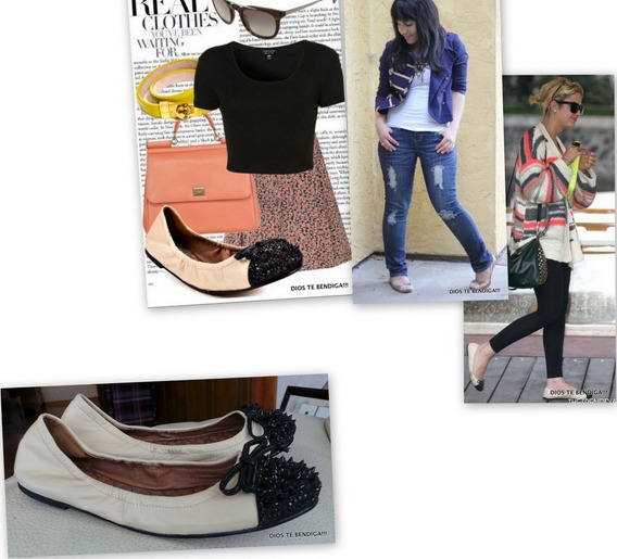 Sam Edelman Beatrix Zapatos Cuero Marfil Tachas Negras 35