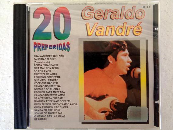 Raridade Cd Original Geraldo Vandré 20 Preferidas