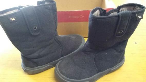 Botas Mimo - New Kila Baby - Negras - Usado - Envios Pais