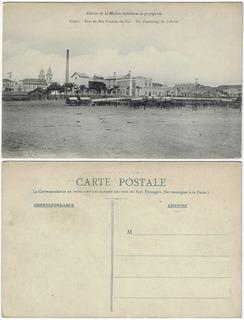 Rs Anos 1910 Cartão Postal Foto Subúrbio De Pelotas