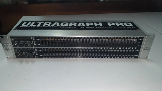 Equalizador Behringer Fbq 3102