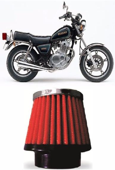 Filtro De Ar Esportivo Moto Intruder 125cc Lavável Rci02