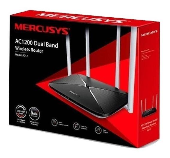 Router Mercusys Ac1200 Rompemuro Dual Band Hecho Tplink