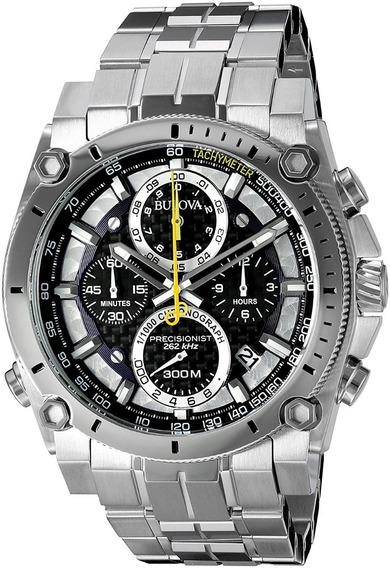 Relógio Bulova 96g175 Precisionist Safira Lançamento 2018