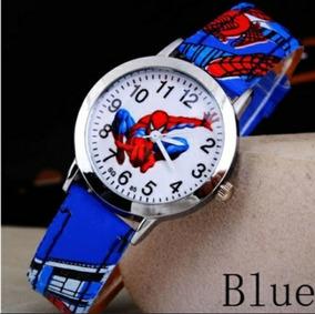 Relógio Do Homem Aranha Infantil Para Crianças