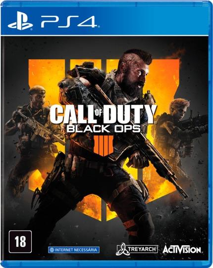 Call Of Duty Black Ops 4 - Ps4 - Mídia Física - Novo