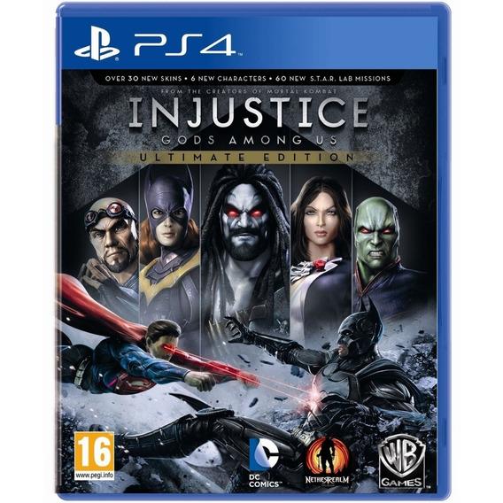 Jogo Injustice Ultimate Edition Ps4 Midia Fisica Nacional Br