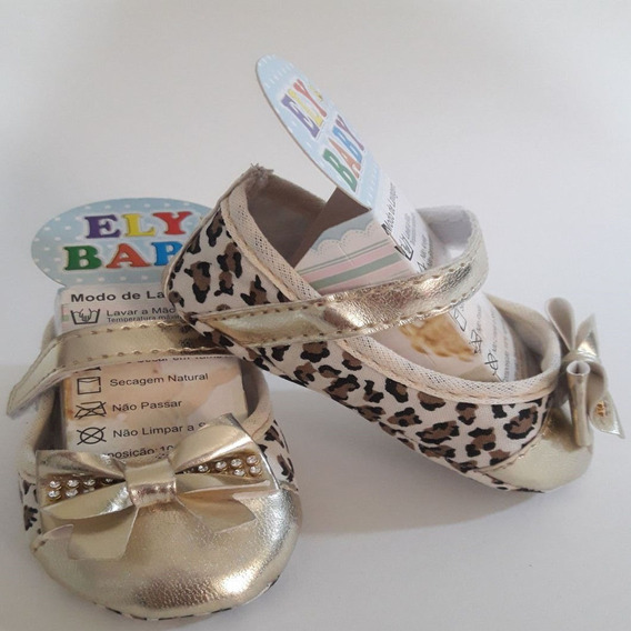 Sapato Infantil Menina Sapatinhos Bebe Direto Da Fabrica Rn