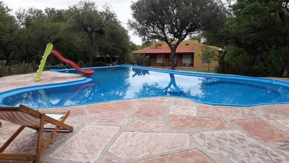 Cabañas En Las Chacras Traslasierra, Cordoba 2 A 8 Personas.