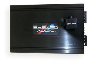 Amplificador Clase D Eleven Audio Usa 1600 Watts Controlador