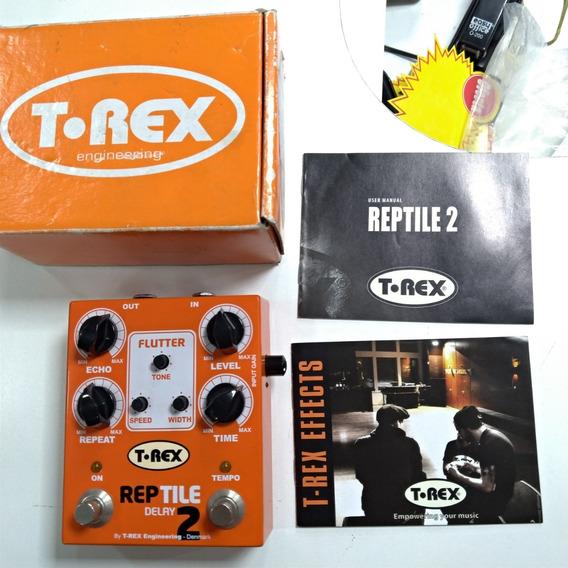 Pedal Delay T-rex Reptile Delay 2 Usado
