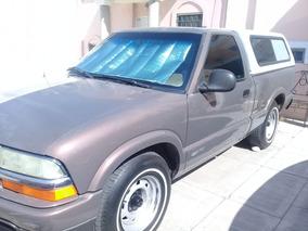 Camioneta Pick Up Chevrolet S10 Modelo 1998, Estandar 5 Vel.
