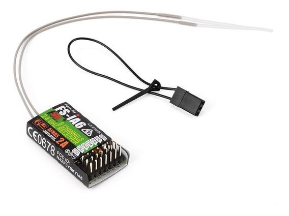 Flysky 2.4g 6ch Afhds Receiver Transmitter Fs-ia6