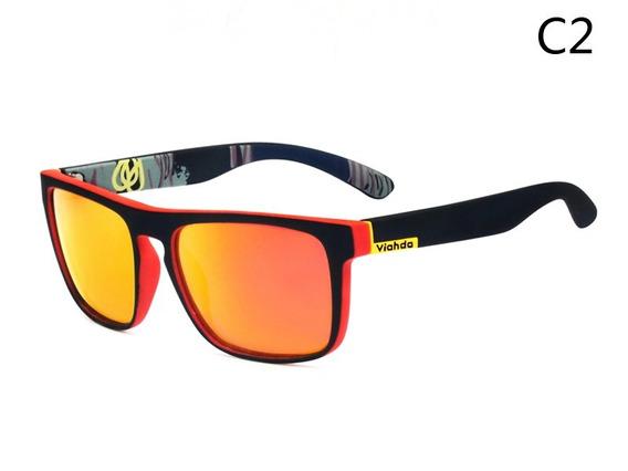 Viahda Óculos Polarizados Men Brand Design Driving Sun Ócu