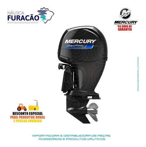 Motor De Popa Mercury 4 Tempos 150hp L 3.0l Efi Seapro
