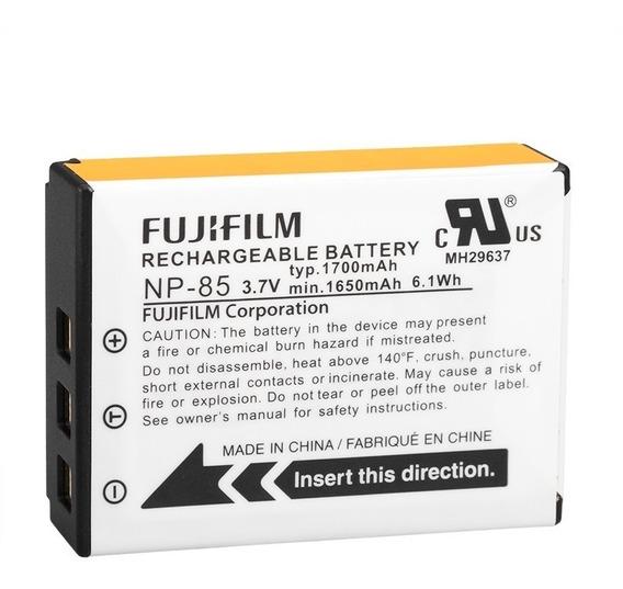 Bateria Original Fuji Np85 P/ Fuji Sl285 Sl300 Sl1000 Np-85
